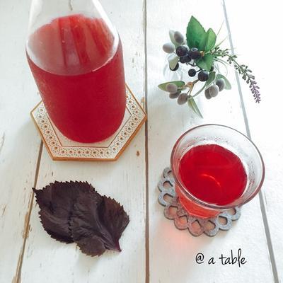 赤しそジュース(レシピ)♪ 季節のお楽しみ