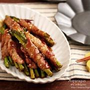 【レシピ】ご飯もお酒もすすみすぎる♡レモン香る♪アスパラの肉巻き♡とお弁当