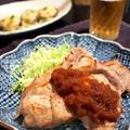 豚肉の新タマネギソースとさっぱりサラダ by shoko♪さん