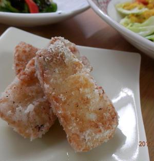 お弁当に♪ぶりの竜田揚げ生姜風味