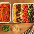 持ち寄りに使える簡単サラダ♪ソムタム&コブサラダ