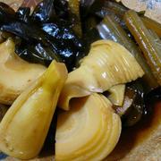 筍とワカメと蕗の煮物