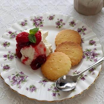 自家製リコッタチーズでリコッタパンケーキ*参考レシピあり