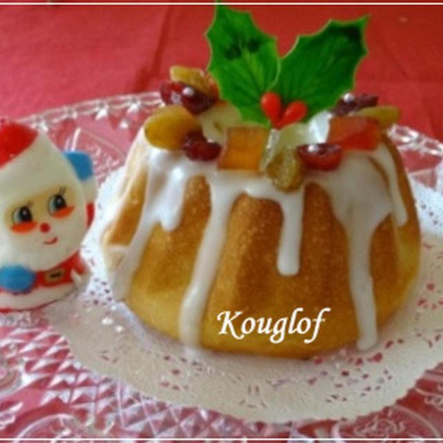クリスマスに・・クグロフ型deチョコチップマロンパン☆