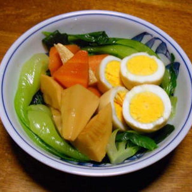 ゆで卵のオイスターソース煮