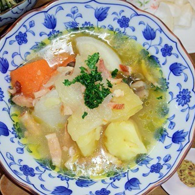 野菜のポトフ風煮込み