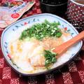 毎日でも食べたい。5分も要らない バランスおかゆ。『そぼろあんかけ湯豆腐おかゆ』
