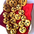 『かぼちゃクッキー』☆ホロホロの《スノーボールクッキー》にかぼちゃをプラスして♪♪