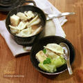 高菜炒飯と水餃子 by filleさん