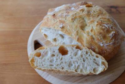 【レシピ】失敗なし!のハードブレッド。「ニューヨークタイムズ」で紹介された、こねないパン。