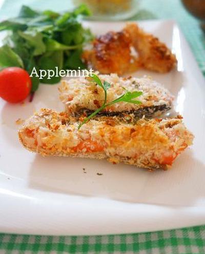 トースターで簡単!秋鮭のマヨパン粉焼き