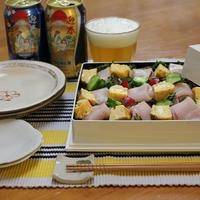 【ブリのカラフルちらし寿司とザ・プレミアム・モルツ2017干支デザイン缶】