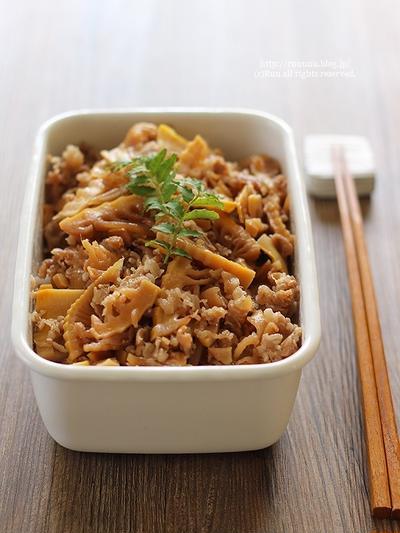 【レシピ】アレンジいろいろ♡牛肉と筍のしぐれ煮。~36筍2016と野田琺瑯~