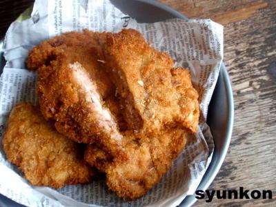 【簡単カフェごはん】卵不使用*豚こま切れ肉で一口トンカツ