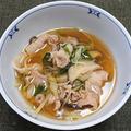 豚肉と椎茸他のハリハリ汁
