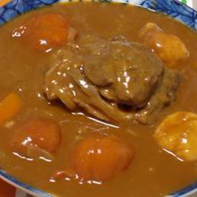 100皿シチュー!!7皿目のシチュー 牛スネ肉とベークドトマトのビーフシチュー