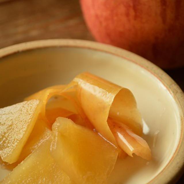 【食】 甘くて、しゃっきり美味しい 『りんご煮』