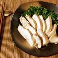 シンプルだが完璧。白だし昆布の絶品和風サラダチキン(糖質3.3g) by ねこやましゅんさん
