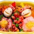 【ひな祭り】子供のお弁当クックパッド5選・簡単可愛いキャラ弁もご紹介
