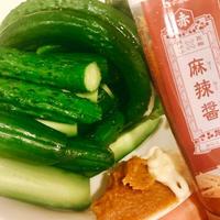 麻辣醤みそマヨできゅうりがおいしい