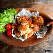 【簡単!!】鶏のガーリックレモンペッパーカリカリ焼き