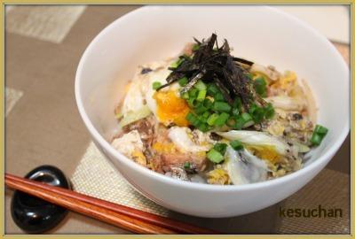 ☆ さんまの醤油煮とろ~り卵とじ ☆
