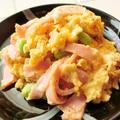 あっという間に完成!たった3分でできる卵とハムチーズのお弁当おかず by 銀木さん