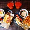 食感が楽しめる手軽にリッチなクイニーアマン風トースト♪~♪ by みなづきさん