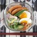 あるもので~☆常備菜とゴーヤサラダのお弁当 by 杏さん