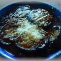 茄子のミンチデミグラチーズ焼き