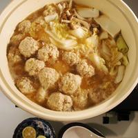 【鍋を愛する1週間】フワフワサックサク♪ ☆レンコン肉団子鍋☆