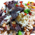 牛肉とパプリカの春色チャーハン by SHIMAさん