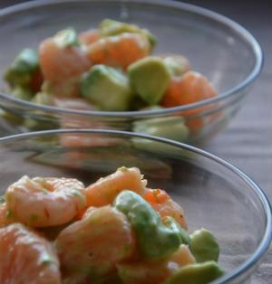 つくレポお礼♪と海老とアボカドとグレープフルーツのサラダ♪サンキストモニター