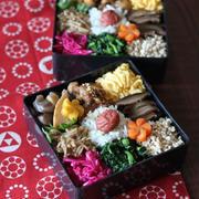 常備菜のっけ弁 ✿ ミニ沖縄そば(๑¯﹃¯๑)♪