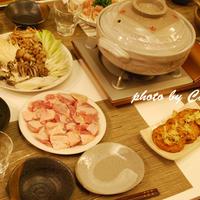 鶏塩鍋と玉子雑炊