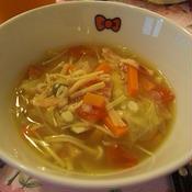 ミネストローネ風野菜のスープ