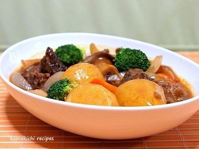 保温調理鍋で「楽々でホクホクのビーフシチュー」&相変わらずの「最近の食卓風景」