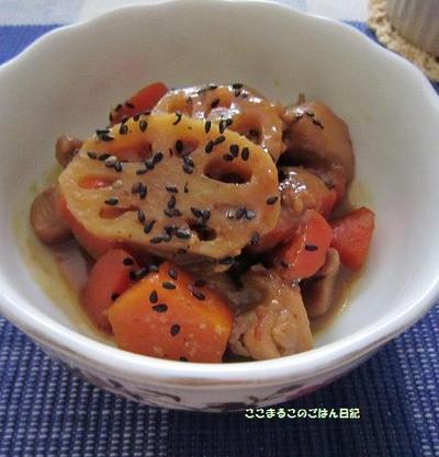 鶏肉と根菜のこくまろ煮