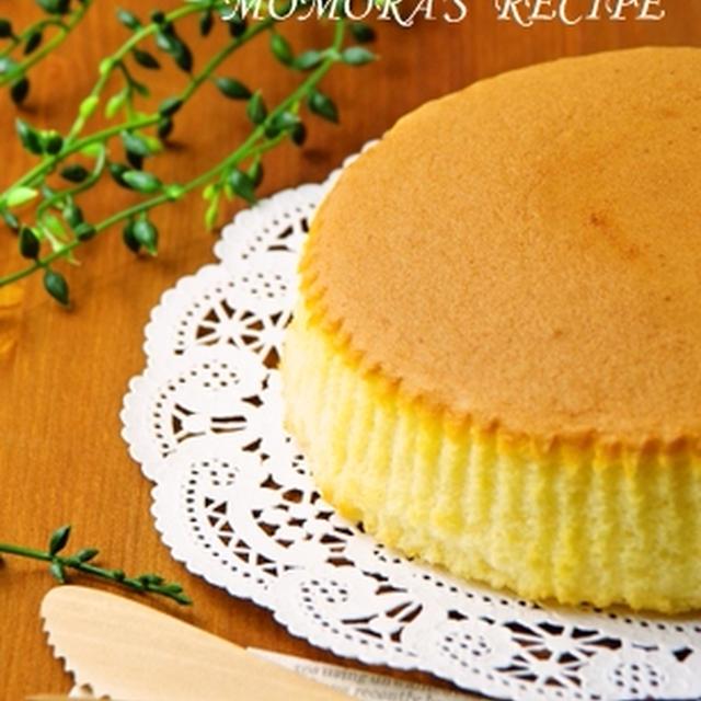 ホットケーキミックスHMで簡単お菓子♡ふわふわスフレチーズケーキ♪父の日にも