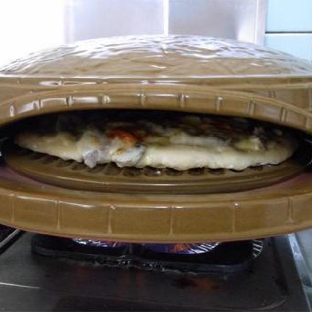 陶製ピザ釜でピザ初挑戦
