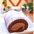 コストコ*ギラデリde生チョコココアロールケーキ♪ by naoさん