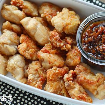 黒酢ユーリンチー(油淋鶏)