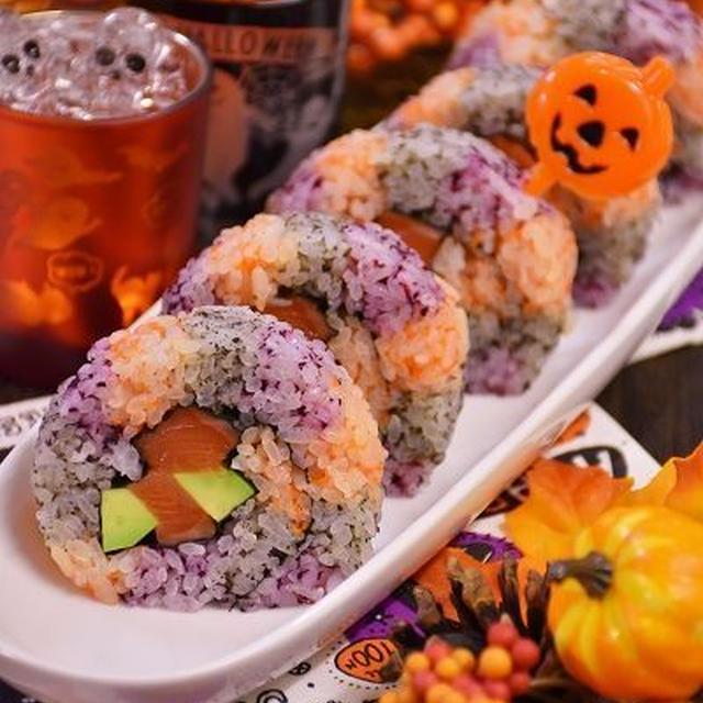 ハロウィン巻き寿司!