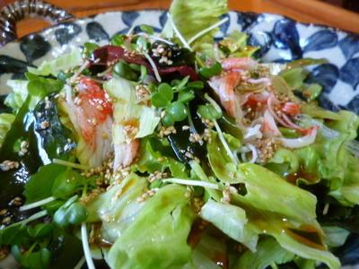 ★ 海藻サラダ ★