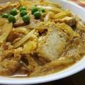 時間がない時のサッとレシピ♪「厚揚げ豆腐の卵とじ」