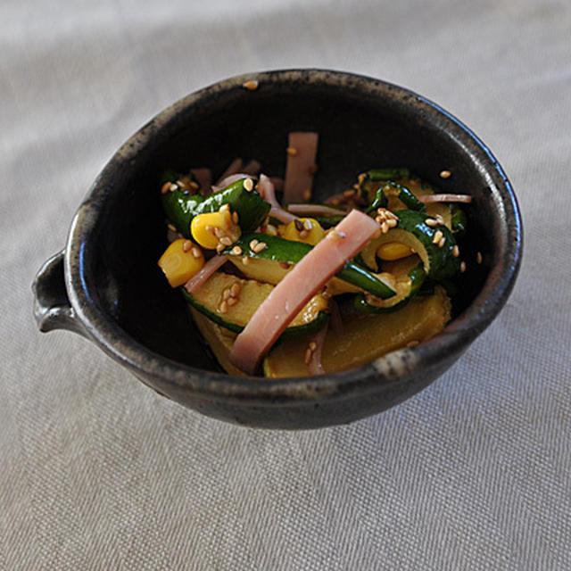 干しきゅうりの中華風サラダ