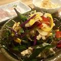 サラダ感覚で野菜もたっぷり小アジの南蛮漬け