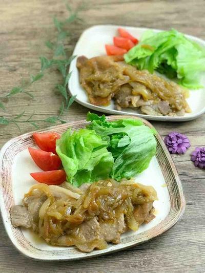 【レシピ】下味冷凍保存で長持ち、味しみ柔らか豚の生姜焼き