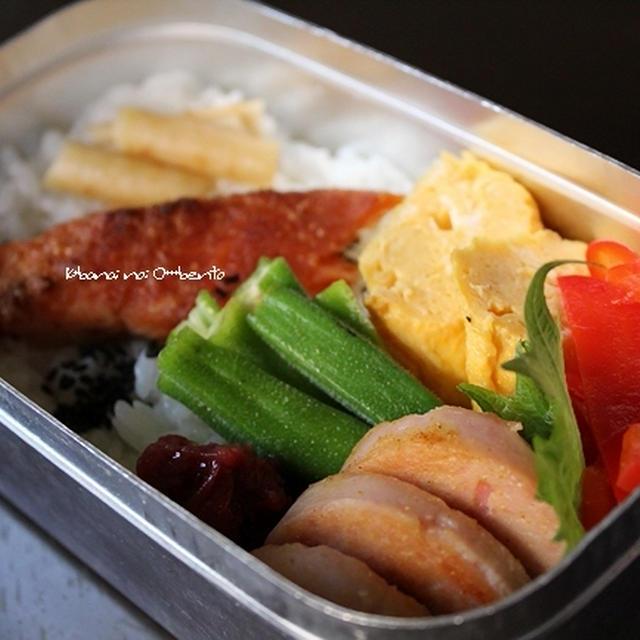 魚ハムのカレー炒め・弁当