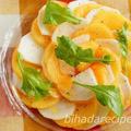柿とかぶのカルパッチョ-美肌レシピ【ハダレピ】